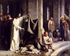 Christ Healing the Sick by Carl Bloch