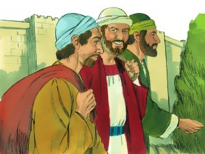 Paul, Barnabas and Mark Travel to Cyprus - image courtesy of freebibleimages.org