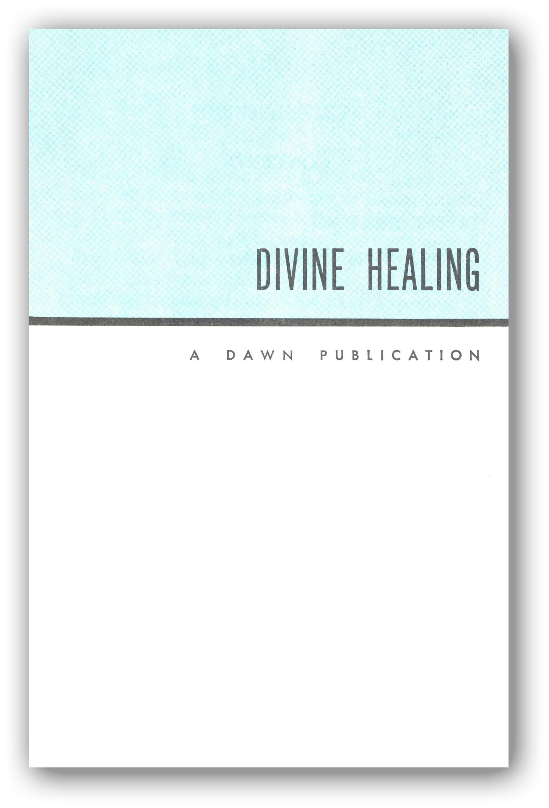 RobertDPace.com – A STUDY OF DIVINE HEALING